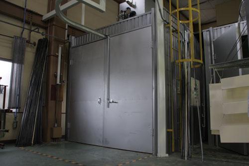箱型循環式バッチ炉